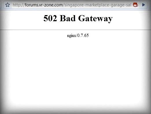Фото - Що значить 502 bad gateway?