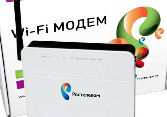 Фото - Ростелеком: як підключити wifi?