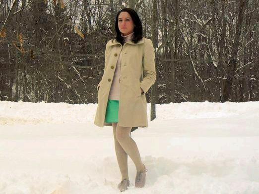 Фото - З чим носити спідницю взимку?