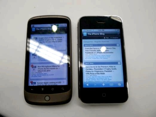 Фото - Що краще iPhone або HTC?