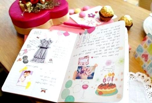 Фото - Що можна намалювати в щоденнику?