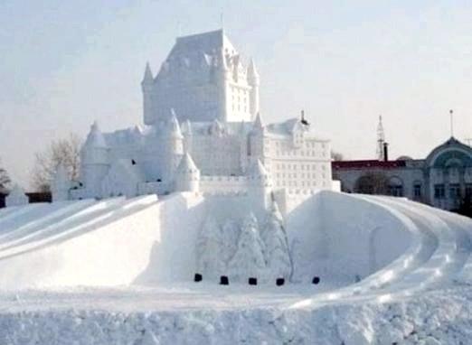 Фото - Що можна зробити зі снігу?